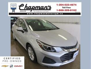 Used 2019 Chevrolet Cruze LT Remote Start, Rear Vision Camera, Heated Seats for sale in Killarney, MB