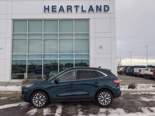 Used 2020 Ford Escape Titanium Hybrid HEATED SEATS | REMOTE START | HEADS UP DISPLAY | BACK UP CAMERA | PANORAMIC SUNROOF-USED EDMONTON FO for sale in Fort Saskatchewan, AB