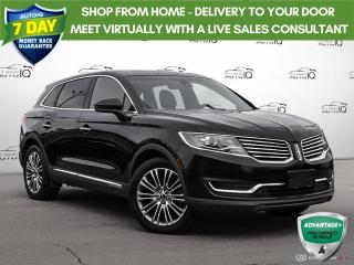 Used 2017 Lincoln MKX Reserve|Navigation|Vista Sunroof|20 Inch Rims!! for sale in Oakville, ON
