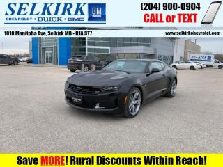 New 2021 Chevrolet Camaro LT for sale in Selkirk, MB