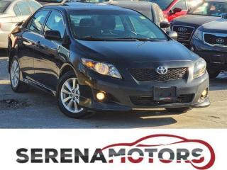 Used 2010 Toyota Corolla S | MANUAL | SUNROOF | NO ACCIDENTS for sale in Mississauga, ON