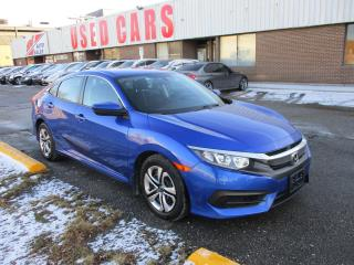 Used 2017 Honda Civic LX ~ BLUETOOTH ~ HEADED SEATS ~ BACK UP CAMERA for sale in Toronto, ON