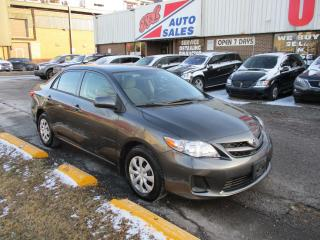 Used 2013 Toyota Corolla LE ~ HEATED SEATS ~ BLUETOOTH ~ ABS ~ LOW KM for sale in Toronto, ON