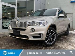 Used 2016 BMW X5 35i - AWD, LEATHER, PANO ROOF, NAV, LOW KMS, IN GREAT SHAPE for sale in Edmonton, AB