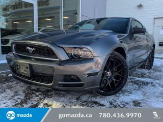 Used 2014 Ford Mustang CLOTH, 6SP MANUAL, POWER OPTIONS for sale in Edmonton, AB