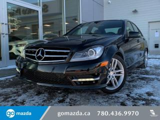 Used 2014 Mercedes-Benz C-Class C300 -4 MATIC,PANO ROOF, LEATHER, HEATED SEATS, SPORTY AND LUXRIOUS!!! for sale in Edmonton, AB