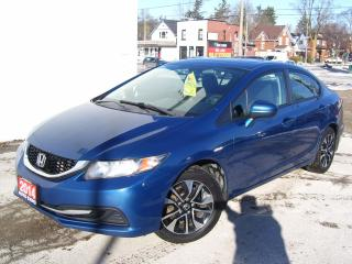 Used 2014 Honda Civic $250 cash back offer on all our financing program, for sale in Kitchener, ON