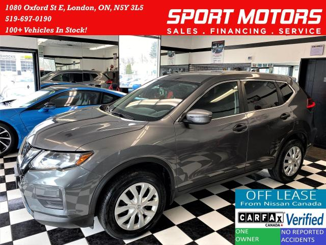 2017 Nissan Rogue S FEB AWD+Safety Shield+Blind Spot+ACCIDENT FREE