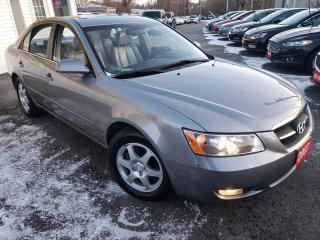 Used 2007 Hyundai Sonata GLS/LEATHER/SUNROOF/POWER&HEATED SEATS/ALLOYS/FOG for sale in Scarborough, ON