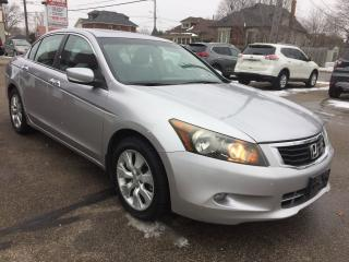 Used 2008 Honda Accord EX-L/LEATHER/P.ROOF/2 SETS OF TIRES for sale in Guelph, ON