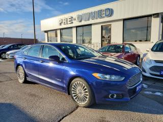 Used 2014 Ford Fusion Titanium Hybrid for sale in Brantford, ON
