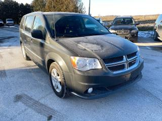 Used 2012 Dodge Grand Caravan Crew PLUS POWER DOORS NAVIGATION for sale in Waterloo, ON