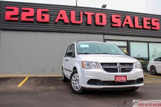 Used 2015 Dodge Grand Caravan Canada Value Package|ACCIDENT FREE|TRACTION CONTRO for sale in Brampton, ON