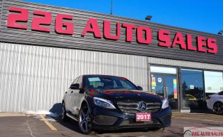 Used 2017 Mercedes-Benz C-Class C 300|AMG|ACCIDENT FREE|BACKUP CAM|NAV for sale in Brampton, ON