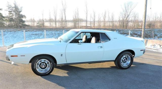 1973 AMC Javelin AMX 401 Automatic Pierre Cardin trim