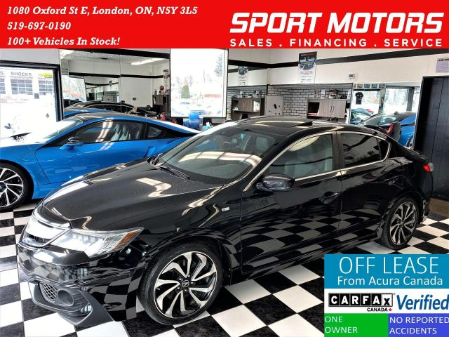 2017 Acura ILX A-Spec TECH+GPS+New Brakes+Sunroof+ACCIDENT FREE