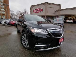 Used 2016 Acura MDX NAVI | CAM | ROOF | PDC | 4 NEW SNOW TIRES* | for sale in Scarborough, ON