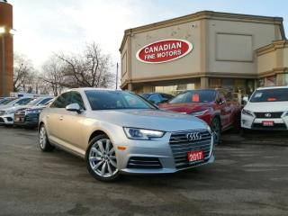 Used 2017 Audi A4 LEATHER - SUN ROOF - 4 NEW WINTER TIRES** for sale in Scarborough, ON