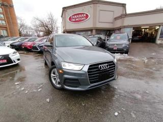 Used 2016 Audi Q3 CLEAN CARFAX   QUATTRO   PANO   4 NEW SNOW TIRES* for sale in Scarborough, ON