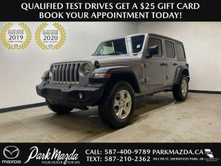 Used 2018 Jeep Wrangler UNLIMITED SPORT for sale in Sherwood Park, AB