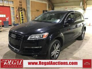 Used 2008 Audi Q7 4D Utility AWD for sale in Calgary, AB