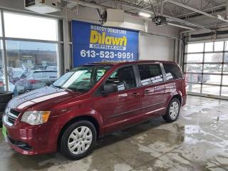 Used 2017 Dodge Grand Caravan Canada Value Package, 3.6L V6 FFV for sale in Nepean, ON