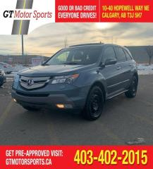 Used 2008 Acura MDX Tech pkg  | $0 DOWN - EVERYONE APPROVED! for sale in Calgary, AB