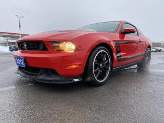 Used 2012 Ford Mustang 2DR CPE BOSS 302 for sale in Kingston, ON
