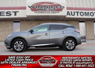 Used 2015 Nissan Murano SL EDITION AWD, NAV, PAN ROOF, HTD LEATHER & MORE for sale in Headingley, MB