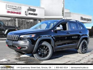 New 2021 Jeep Cherokee TRAILHAWK ELITE | SUNROOF | NAVIGATION for sale in Simcoe, ON
