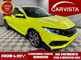 Used 2019 Honda Civic COUPE Sport CVT - NO ACCIDENTS/FACTORY WARRANTY - for sale in Winnipeg, MB