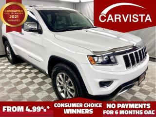 Used 2014 Jeep Grand Cherokee LIMITED 4WD - GOODYEAR WRANGLER/LOADED - for sale in Winnipeg, MB