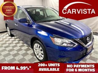 Used 2019 Nissan Sentra SV CVT - NO ACCIDENTS/FACTORY WARRANTY - for sale in Winnipeg, MB