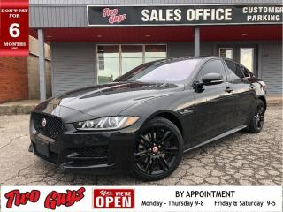 Used 2018 Jaguar XE 25t R-Sport | AWD | Sunroof | Red Leather | Nav | for sale in St Catharines, ON