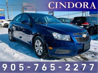 Used 2012 Chevrolet Cruze LT Turbo w/1SA for sale in Caledonia, ON