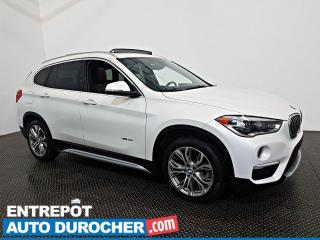 Used 2017 BMW X1 XDrive28i AWD - TOIT OUVRANT - CUIR for sale in Laval, QC