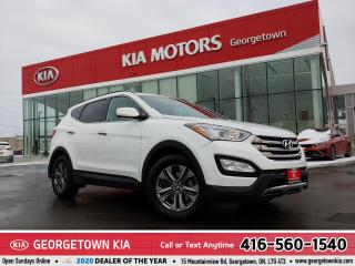 Used 2015 Hyundai Santa Fe Sport Premium   AWD   HEATED FRONT/REAR SEATS   99K   BT for sale in Georgetown, ON