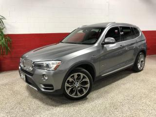 Used 2015 BMW X3 AWD xDrive28i NAVI 360 CAMERA POWER TAILGATE PANO-ROOF HUD for sale in North York, ON