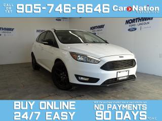Used 2015 Ford Focus BLACK PACK | LEATHER | SUNROOF | NAV | HATCHBACK for sale in Brantford, ON