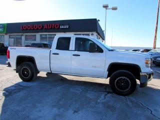 Used 2015 GMC Sierra 1500 Double Cab 4WD 5.3L V8 Alloys Camera Certified for sale in Milton, ON