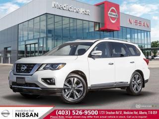 New 2020 Nissan Pathfinder Platinum for sale in Medicine Hat, AB