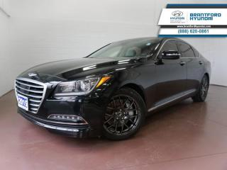 Used 2015 Hyundai Genesis Sedan 1 OWNER | 3.8L V6 | TECH PKG  - $143 B/W for sale in Brantford, ON