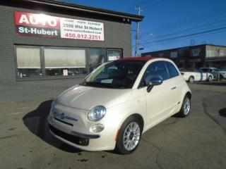 Used 2012 Fiat 500 C ** CONVERTIBLE ** for sale in St-Hubert, QC
