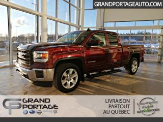 Used 2015 GMC Sierra 1500 SLE cabine double 4RM, 143,5 po for sale in Rivière-Du-Loup, QC