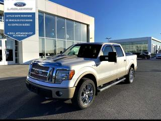 Used 2010 Ford F-150 Cab SuperCrew 4RM 145 po Lariat for sale in Victoriaville, QC