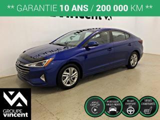 Used 2020 Hyundai Elantra Preferred ** GARANTIE 10 ANS ** Occasion à saisir, comme neuf et à bas kilométrage! for sale in Shawinigan, QC