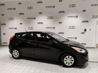 Used 2016 Hyundai Accent JAMAIS ACCIDENTÉ **17894KM SEULEMENT** for sale in St-Eustache, QC