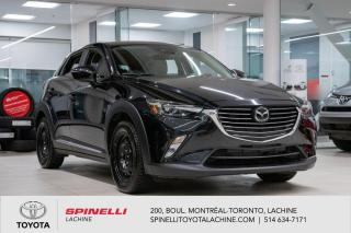 Used 2018 Mazda CX-3 GT BAS MILEAGE! HUD! 2 SETS DE PNEU! for sale in Lachine, QC