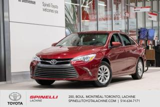 Used 2017 Toyota Camry LE BLUETOOTH! SIEGES CHAUFFANT! for sale in Lachine, QC