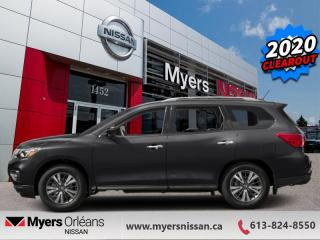 New 2020 Nissan Pathfinder SV Tech  - Navigation -  Heated Seats - $252 B/W for sale in Orleans, ON